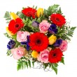 Spring flowers arrangement. — Stock Photo
