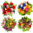 Flower bouquets — Foto Stock
