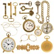 Golden vintage accessories — Stock Photo #31265057