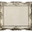 Old silver frame — Stock Photo #31265529