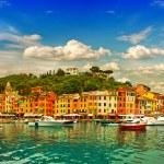 Portofino village on Ligurian coast — Stock Photo #31292389