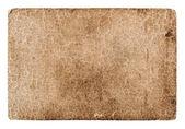 Old cracked grungy cardboard — ストック写真