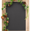 Chalkboard with decoration — Stock Photo #31344371