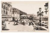 Berühmte grand casino gebäude in monte carlo — Stockfoto