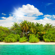 Landscape of tropical island beach — Stock Photo #40796525