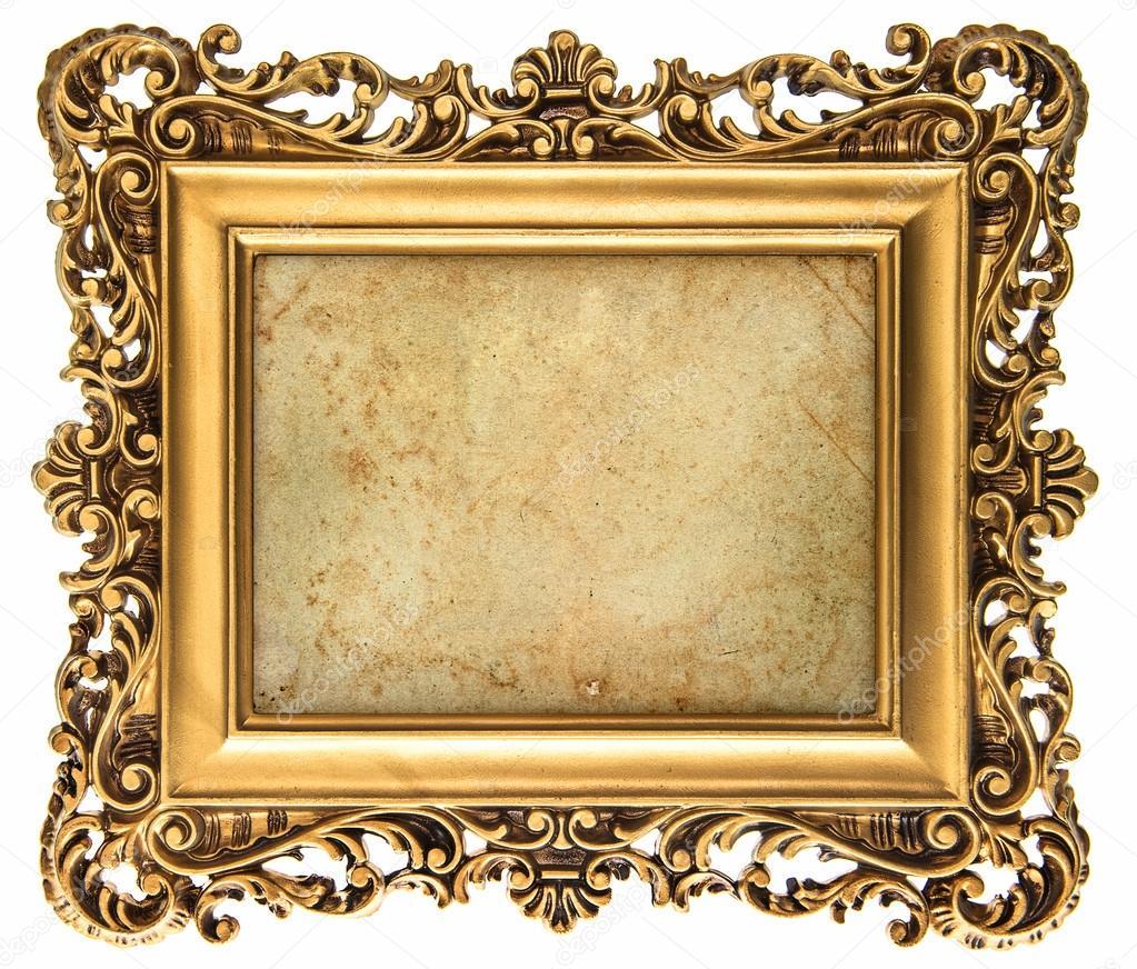 cadre photo dor 233 style baroque avec toile photo 43506135