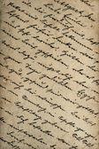 Old handwritten text. textured paper background — Stock Photo