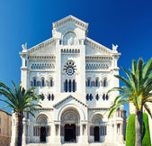Facade of Saint Nicholas Cathedral — Stock Photo