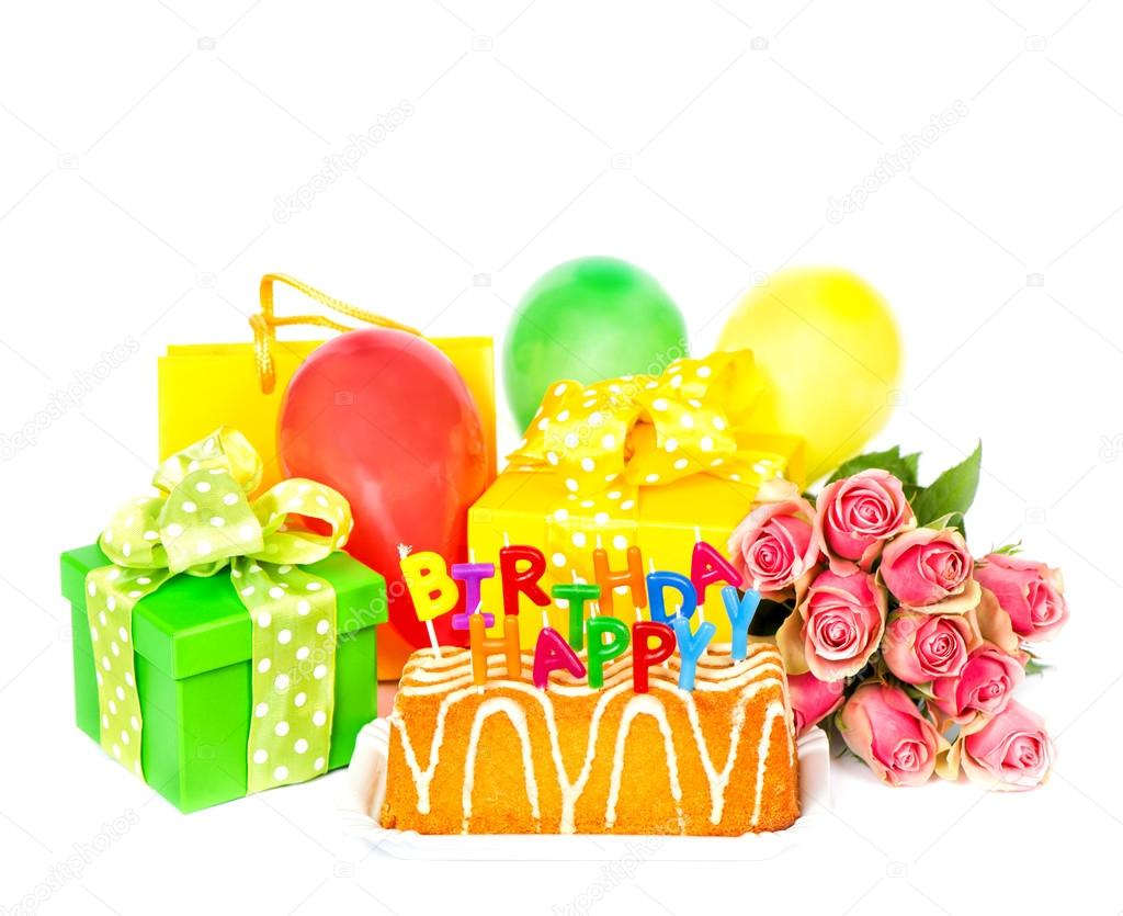 Cake Y Flores Birthdays Imagenes