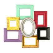 Vintage style frames for photo and picture — Stock Photo