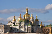 View of the cathedral in Kiev Pechersk — Stock fotografie