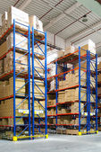 Interior warehouse — Stock Photo
