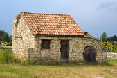 Ancient outbuilding in the south — ストック写真