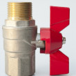 Stock Photo: Ball valve