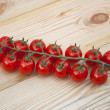 Stock Photo: Fresh cherry tomatoes