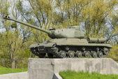 Soviet tank T 34 — Stock Photo