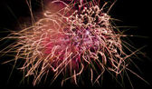 Fireworks Display for the Feast of Saint Mary in Mqabba - Malta — Stock Photo