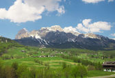 Beautiful view of Dolomiti - Italy — Stock Photo