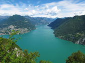 Lugano - Switzerland — Stock Photo