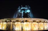 Triton Fountain in Valletta - Malta — Stock Photo