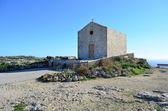A chapel on the cliffs - Malta — Stock Photo