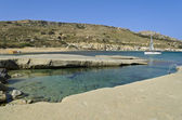 Gnejna Bay - Malta — Stock Photo