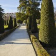 Parque del Buen Retiro - Madrid, Spain — Stock Photo