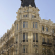 Typical architecture in Madrid, Spain — Stock Photo
