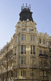 Typical architecture in Madrid, Spain — Foto de Stock