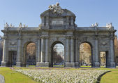 Puerta de Alcala in Madrid - Spain — Stock Photo