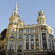 Plaza de Canelejas in Madrid - Spain — Stock Photo