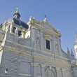Stock Photo: Catedral del Almudenin Madrid (Spain)