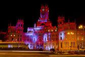 Plaza de Cibeles in Madrid - Spain — Stock Photo