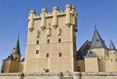 Alcazar in Segovia - Spain — Stock Photo