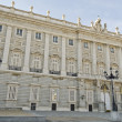 The Royal Palace in Madrid (Spain) — Stock Photo #28550169