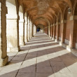 Stock Photo: Hallway in Royal Palace of Aranjuez (Spain)