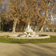 Stock Photo: Gardens of the Royal Palace in Aranjuez (Spain)