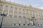 The Royal Palace in Madrid (Spain) — Stok fotoğraf