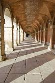 在阿兰胡埃斯皇家宫殿 (西班牙走廊) — 图库照片