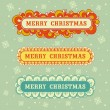 Royalty-Free Stock Vector Image: Merry Christmas collection frame.