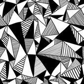 бесшовный фон с треугольниками, бесконечные шаблон. — Cтоковый вектор