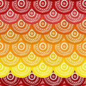 Ethnic seamless pattern — Stock Vector