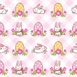 Happy Easter pattern — Stock Vector #43680653