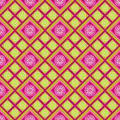 无缝纹理与正方形 — 图库矢量图片