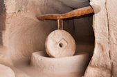 Millstone in Cappadocia — Stock Photo