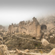Cappadocia fairy chimneys turkey - Stock Photo
