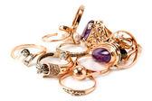 Rings of precious metals — Stock Photo