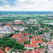 Stock Photo: Panoramof city and surrounding nature