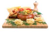 Set di prodotti alimentari — Foto Stock