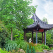 Gazebo in the Chinese style - Stock Photo